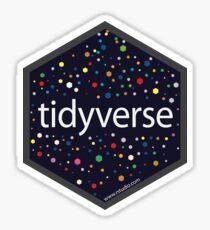 tidyverse hex logo Sticker
