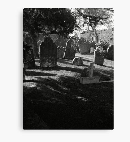 Death Casts It's Shadow Canvas Print
