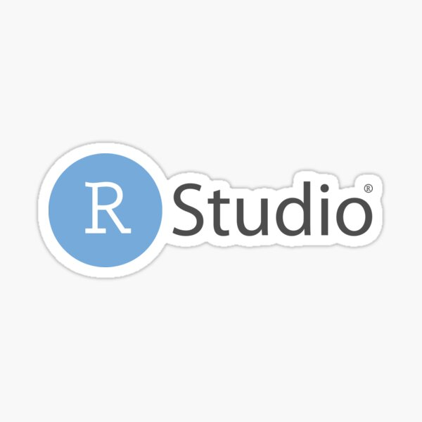 RStudio logo Sticker
