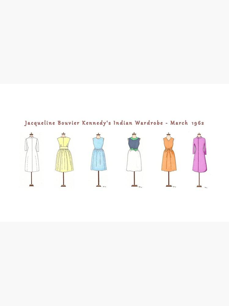 Taza del guardarropa de Jackie Kennedy - viaje indio, marzo de 1962 de Jakegariepy