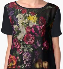 Rikard Osterlund's Flowers (Philosophy of Futility) Chiffon Top