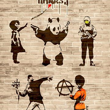 Love Banksy Sticker by markstones