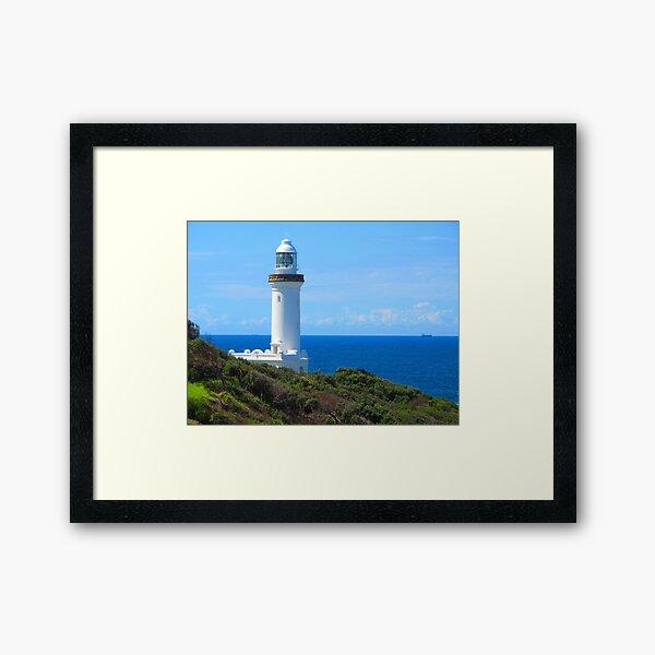 Norah Head Lighthouse Framed Art Print