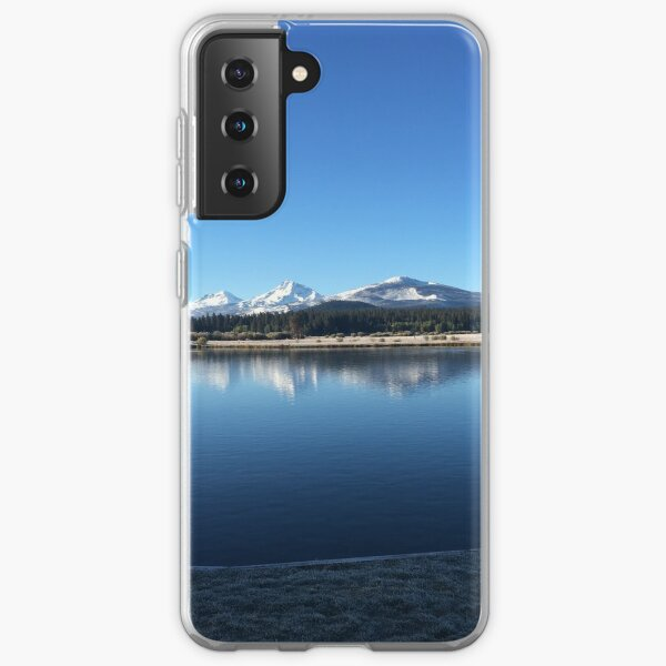 Three Sisters from Black Butte Samsung Galaxy Soft Case