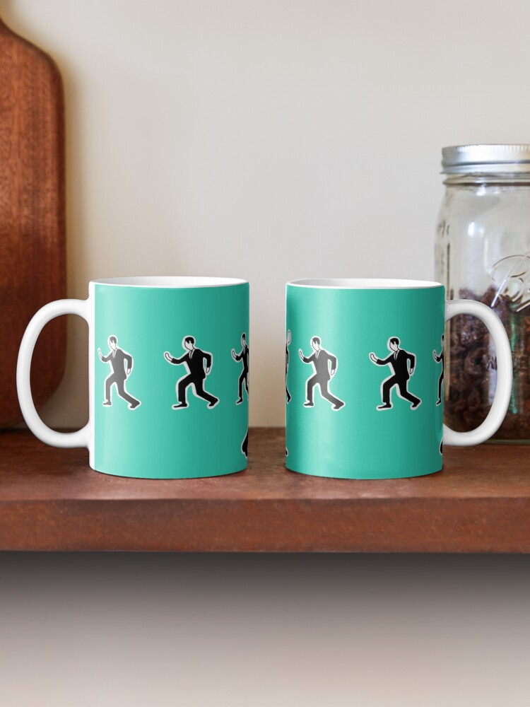 Alternate view of Talking heads - once in a life time Mug