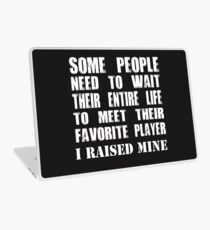 Mom Raised Her Favorite Player - Funny Gift Idea Laptop Skin