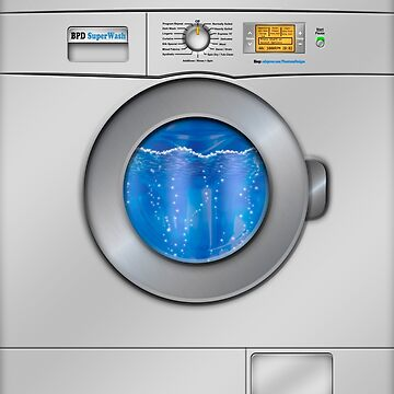 Washing Machine by BonniePhantasm