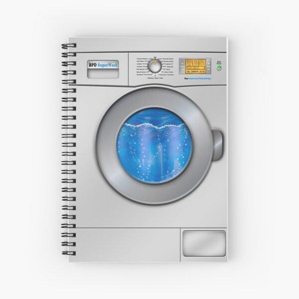 Washing Machine Spiral Notebook
