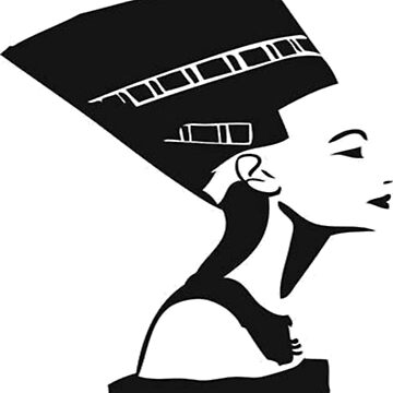 Queen Nefertiti by GraffitiBox