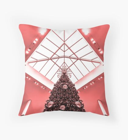 Happy Holidays 3 Throw Pillow
