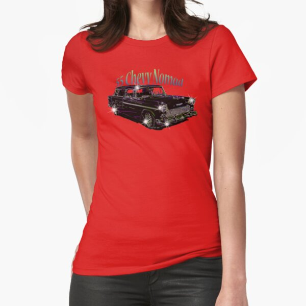 55' Chevy Nomad Fitted T-Shirt