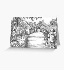 Bunratty Folk Park Greeting Card