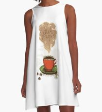 Wake Up T-Shirt A-Line Dress