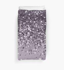 Sparkling Lavender Lady Glitter #2 #shiny #decor #art Duvet Cover