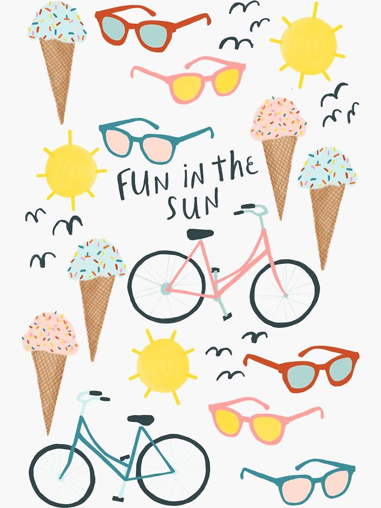 Summertime Fun in the Sun by shoshannahscrib