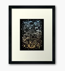Worm Holes Framed Print