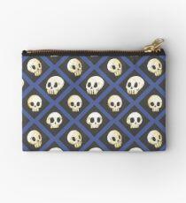 Tiling Skulls 4/4 - Blue Studio Pouch