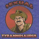 Sexual Tyrannosaurus by DustinGoebel
