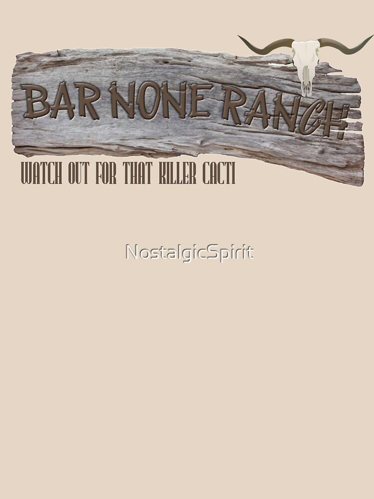 """Bar none ranch"" T-shirt by NostalgicSpirit | Redbubble"