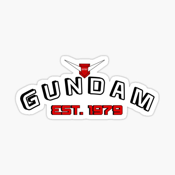 Gundam made Sticker