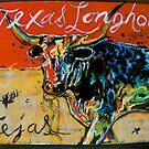 texas longhorn by johnny hancen
