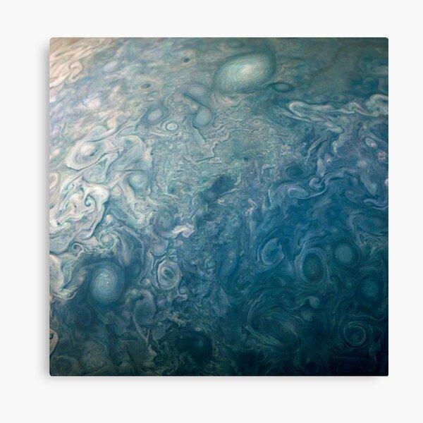 Jupiter, Perijove 12_81 pattern Canvas Print