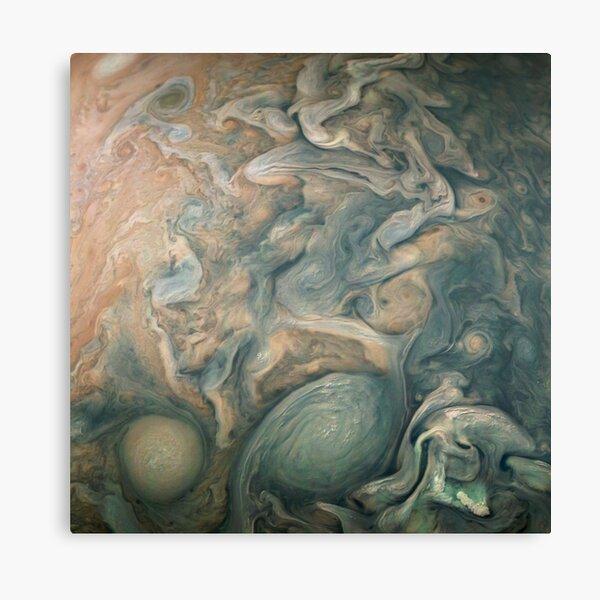 Jupiter, Perijove 12_84 pattern Canvas Print