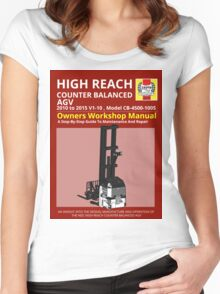Workshop Manual - High Reach AGV BW Women's Fitted Scoop T-Shirt