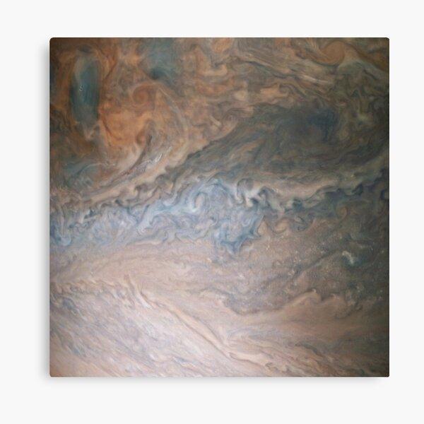 Jupiter, Perijove 12_86 pattern Canvas Print