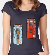 Slot Cars II Women's Fitted Scoop T-Shirt