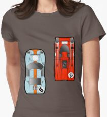 Slot Cars Women's Fitted T-Shirt