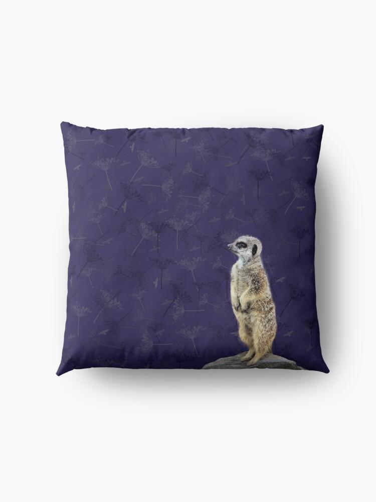 Alternate view of Meerkat  Floor Pillow