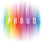 LGBTQ - PROUD Full color design by Jessica Marshall