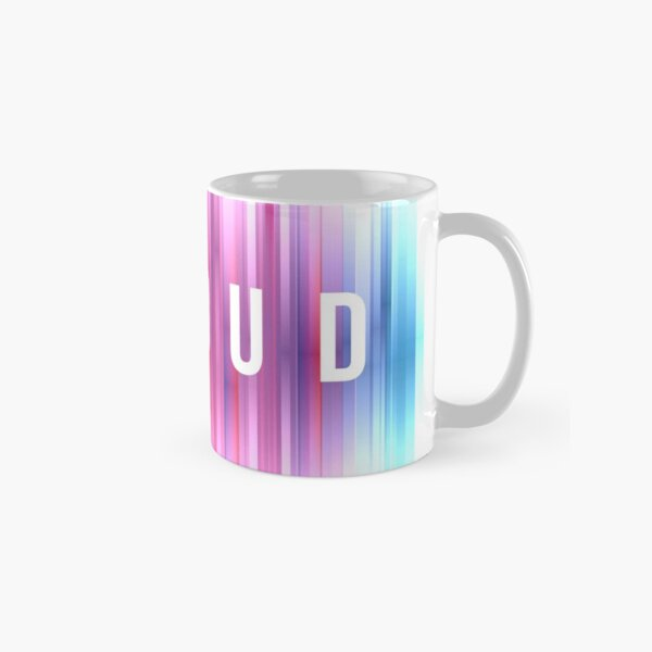 LGBTQ - PROUD Full color design Classic Mug