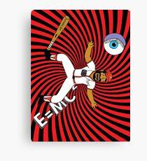 Space Ozz-dyssey Canvas Print