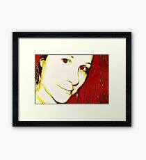 redaddiction Framed Print
