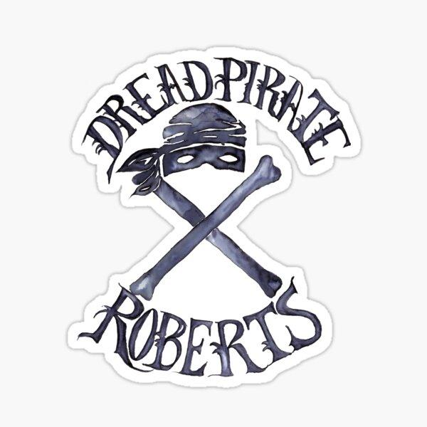 Dread Pirate Watercolor Sticker