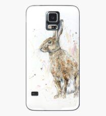 The Original Watercolour Hare  Case/Skin for Samsung Galaxy