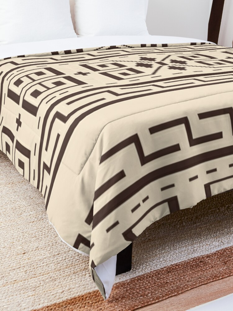 Alternate view of The Dude Abides The Big Lebowski Cardigan Print Comforter