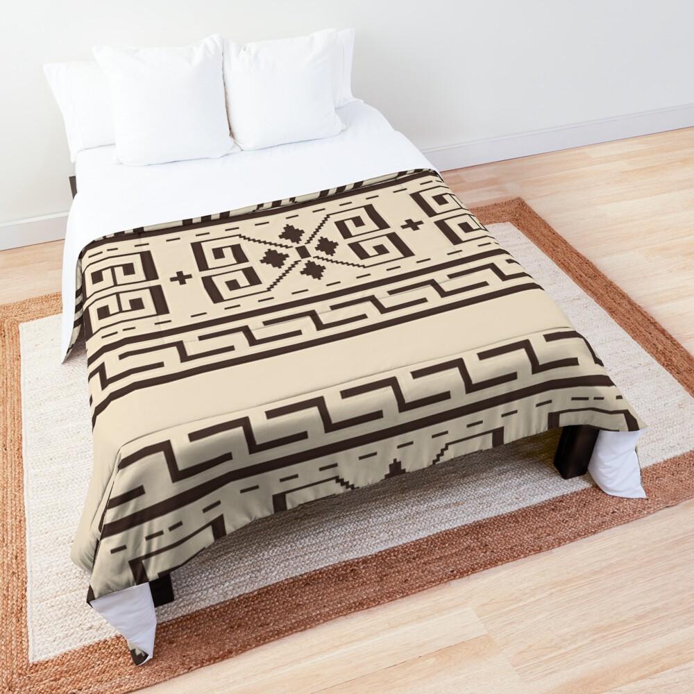 The Dude Abides The Big Lebowski Cardigan Print Comforter