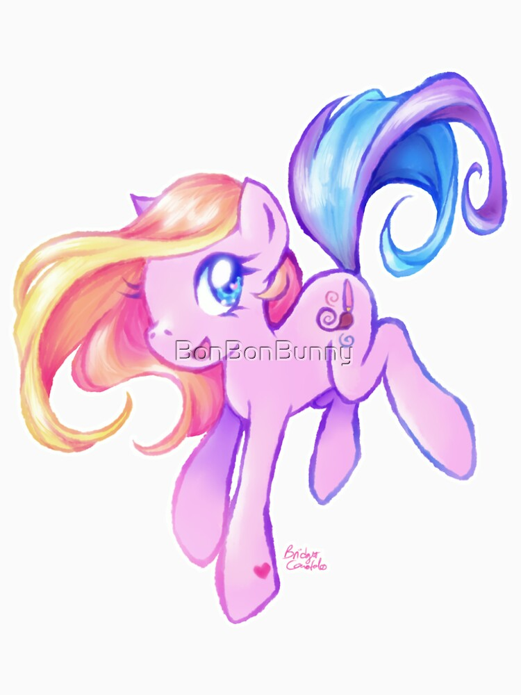 cute kawaii toola roola my little pony fan art women s premium t