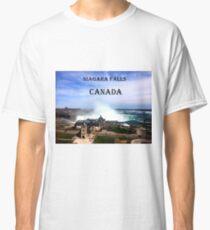Niagara Falls, Ontario, Canada Classic T-Shirt