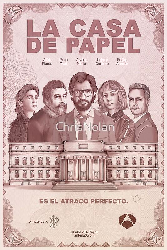 La Casa De Papel Poster\