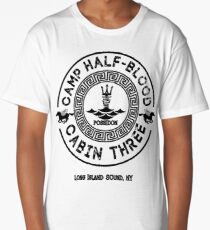 Percy Jackson - Camp Half-Blood - Cabin Three - Poseidon Long T-Shirt