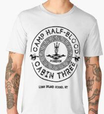 Percy Jackson - Camp Half-Blood - Cabin Three - Poseidon Men's Premium T-Shirt