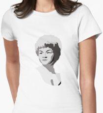 Etta James Illustration Women's Fitted T-Shirt