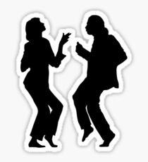 Pulp Fiction Dancing  Sticker