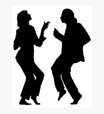 Pulp Fiction Dancing  Photographic Print