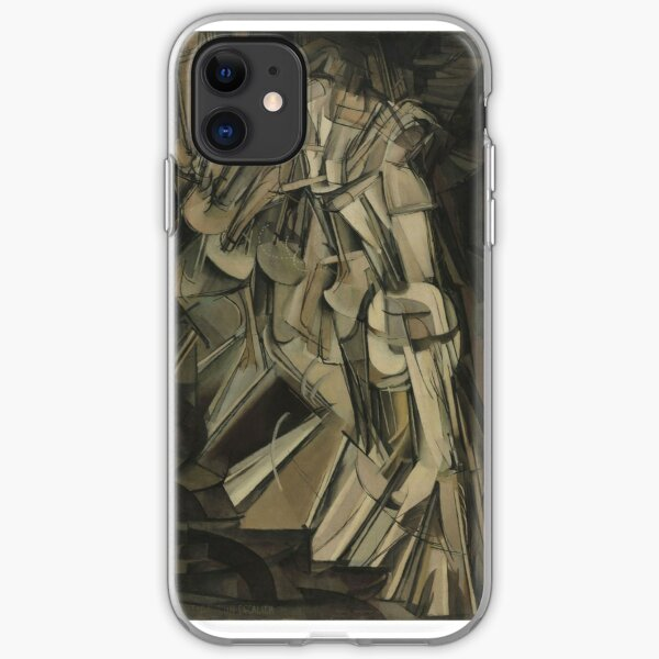 Duchamp's Nude Descending a Staircase, No. 2 iPhone Soft Case