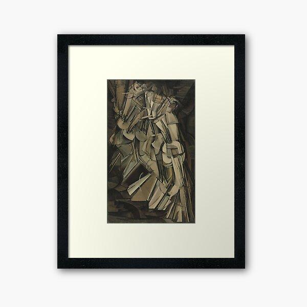 Duchamp's Nude Descending a Staircase, No. 2 Framed Art Print
